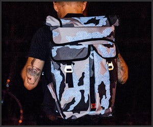 Orlov Reflective Camo Bag