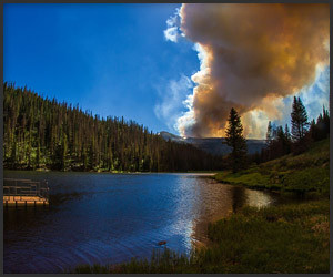 Pagosa: Wildfire Time-Lapse