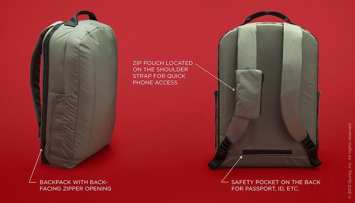 Defender Anti-Theft Backpack