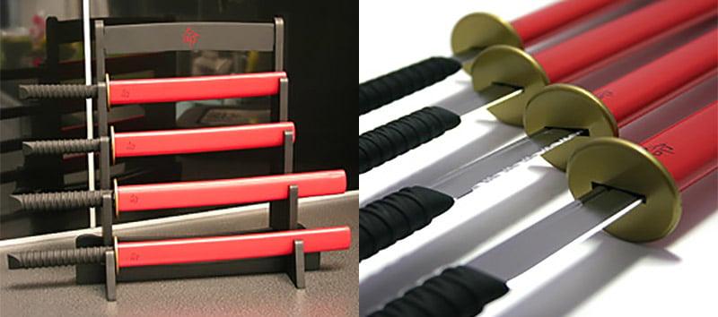Samurai Kitchen Knives