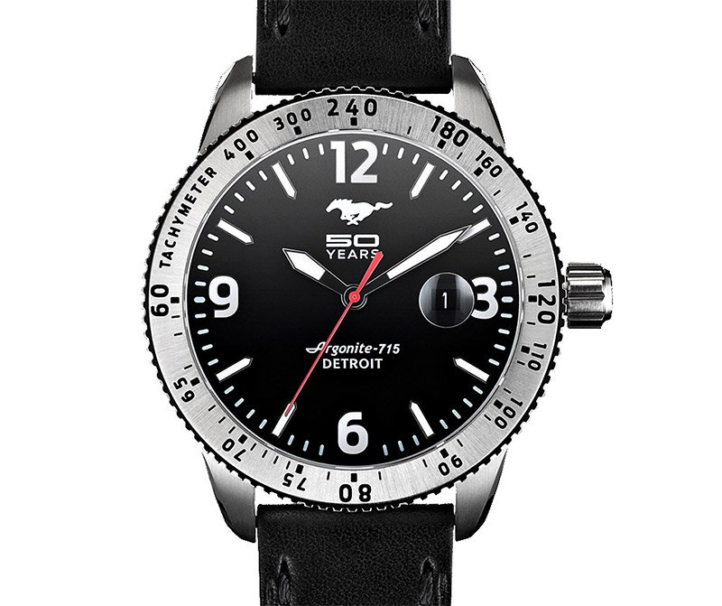 Shinola Mustang 50th Watch