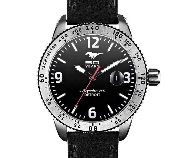 Shinola Mustang 50th Watch