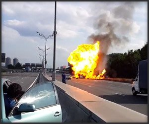 Truck Won't Stop Exploding
