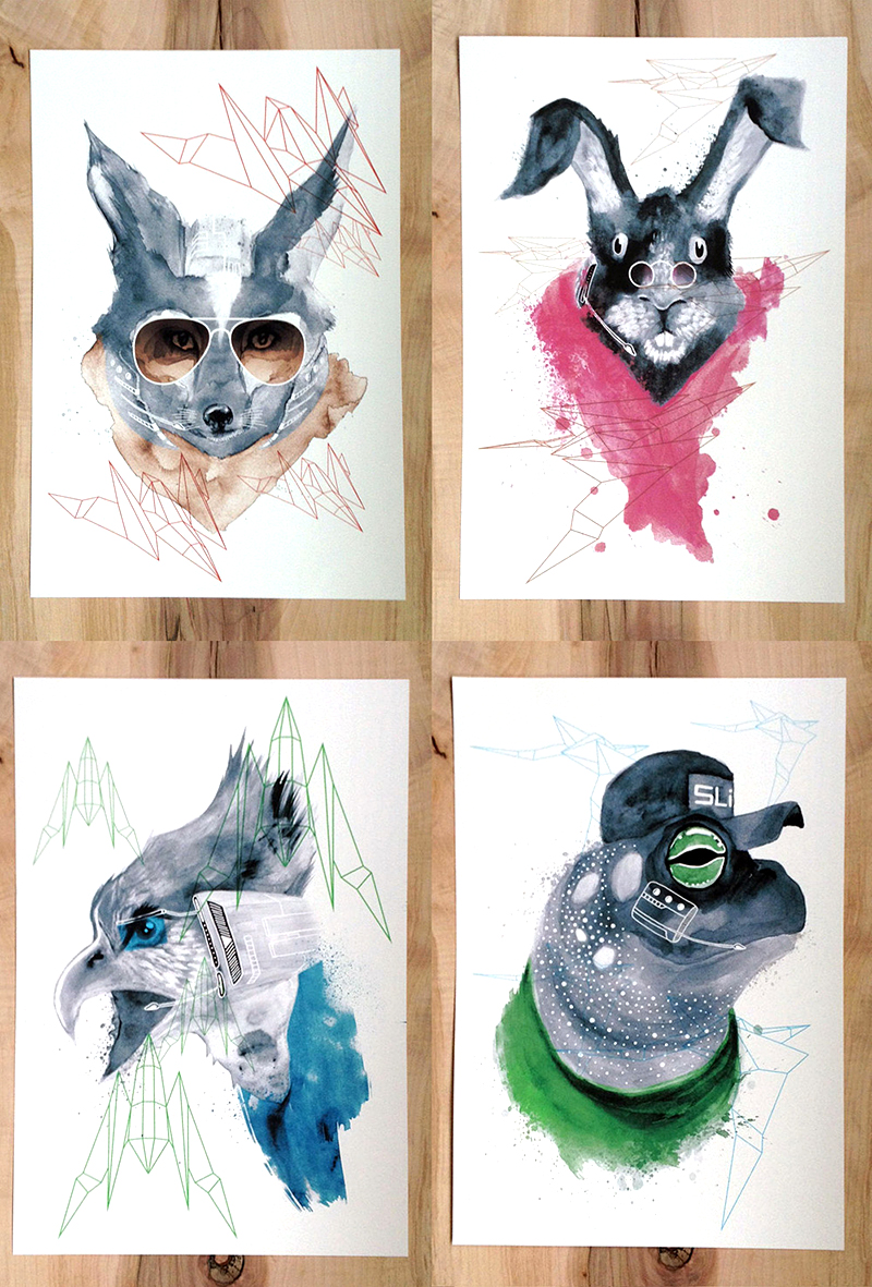 Star Fox Prints