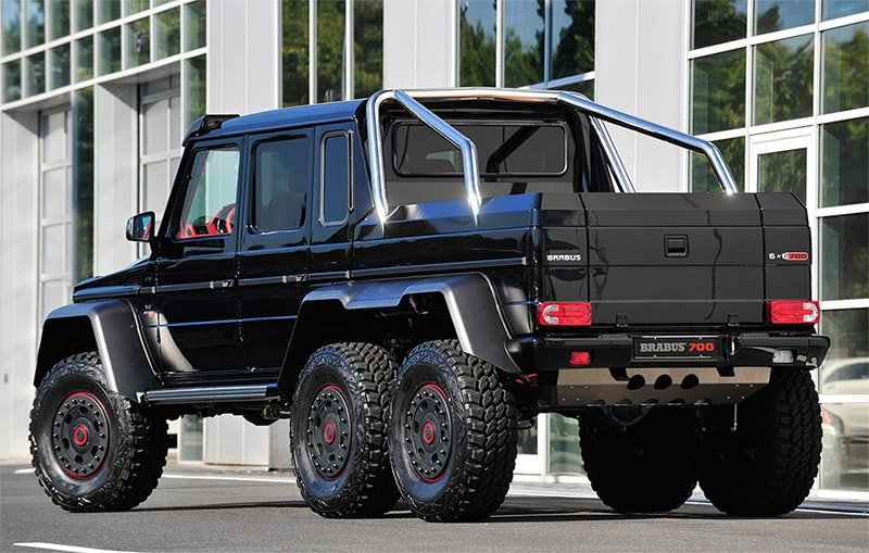 brabus b63 700 g63 amg 6x6 the awesomer. Black Bedroom Furniture Sets. Home Design Ideas