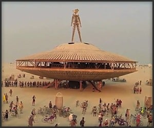 Burning Man '13 Drone's Eye View