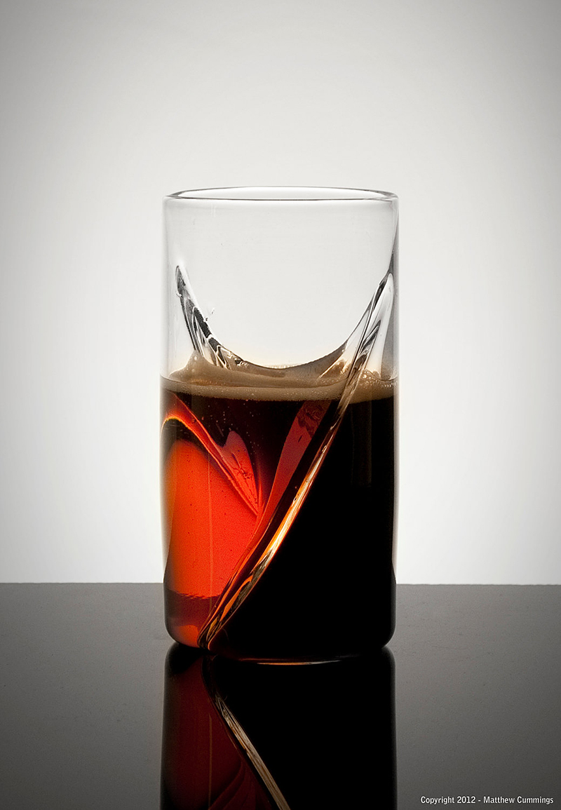 Dual Beer Glass