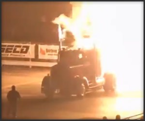Flaming Jet Truck