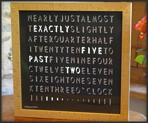 Flowza Word Clock