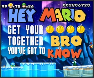 Patent pending hey mario live and learn