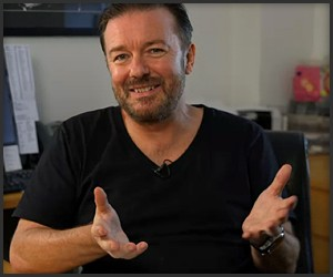 Ricky Gervais Learns to Write