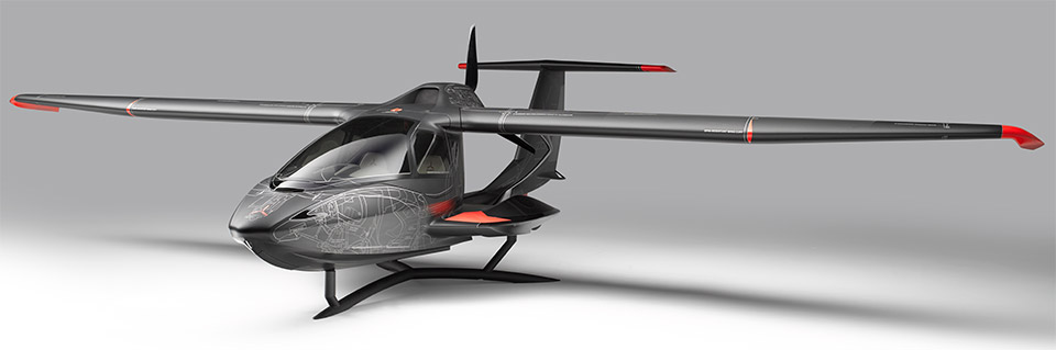 ICON A5 Systems Layout