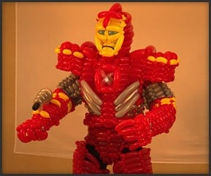 Iron Man Balloon Man