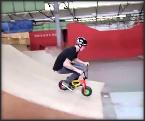 Mini BMX Stunts