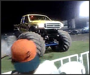 Monster Truck Close Call