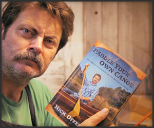 Nick Offerman Crafts His Book