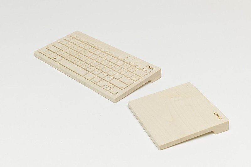 Orée Touch Slab Wooden Trackpad