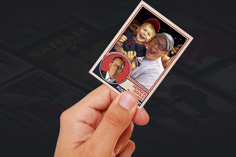 Rookies Personal Baseball Cards