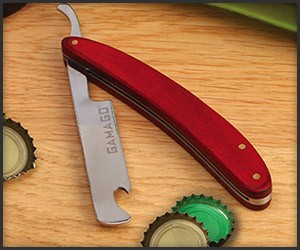 Close Shave Bottle Opener