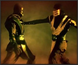Scorpion vs. Noob Saibot