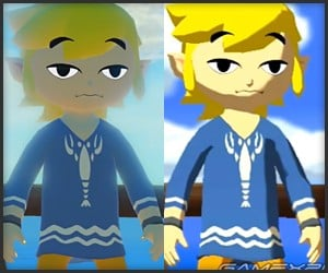 Zelda: Wind Waker HD vs. Original