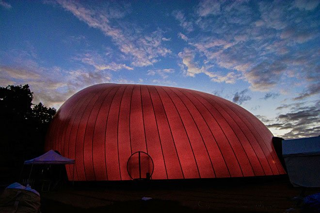 Inflatable Concert Hall