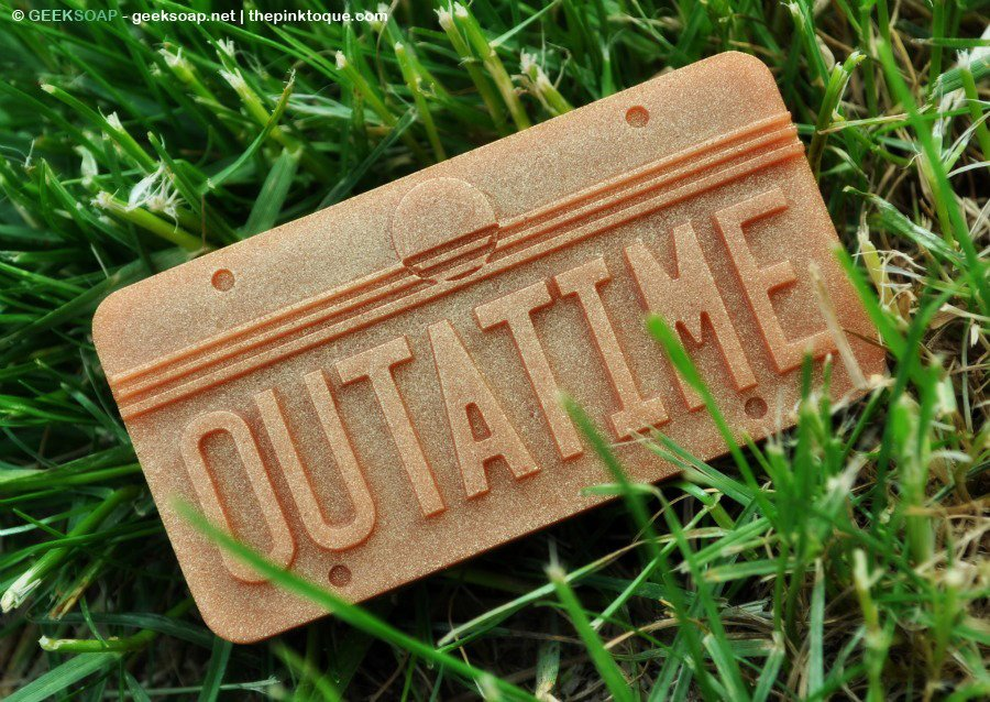 BTTF OUTATIME Soap