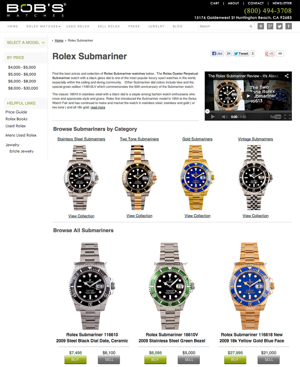Bob's Watches