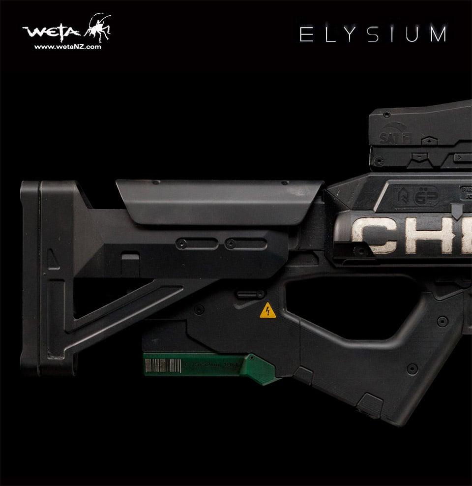 Elysium TST Chemrail Rifle Replica
