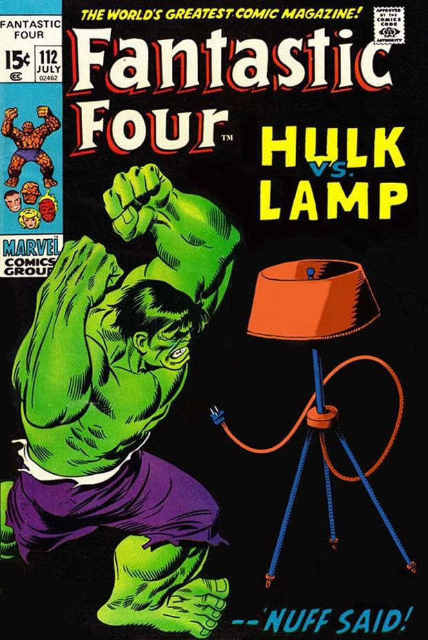 Comics x Lamps