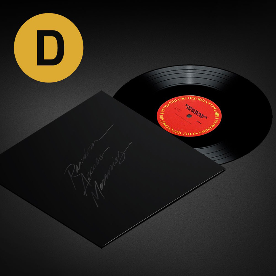 Daft Punk RAM Deluxe Box Set