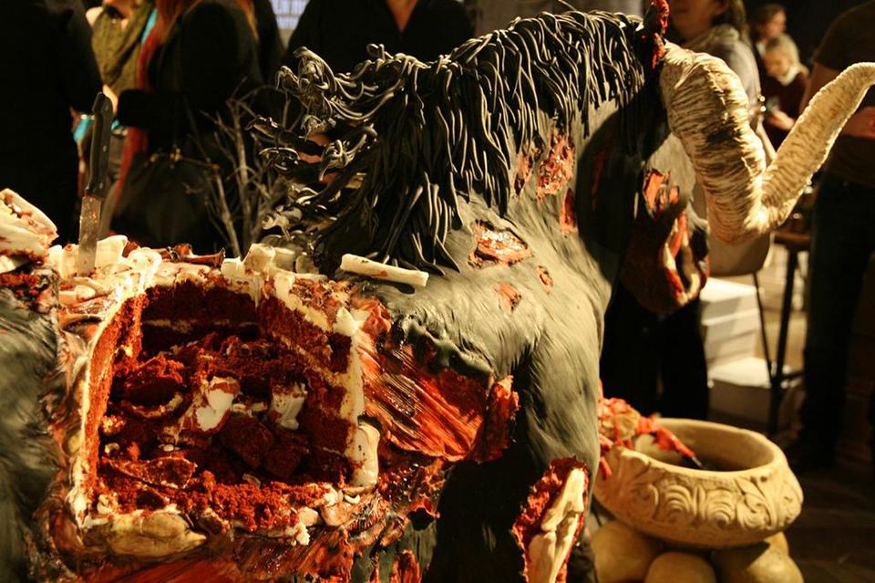 Devil Horse Cake
