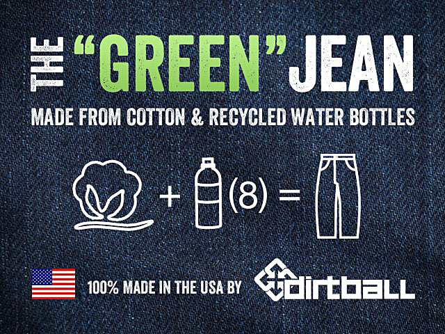 Dirtball Green Jean