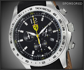 Deal: Ferrari Scuderia Watch