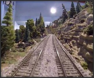 GoPro Model Train Ride