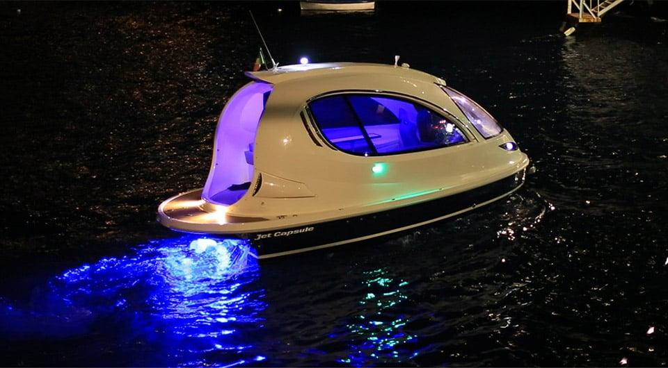 Jet Capsule Mini-Yacht