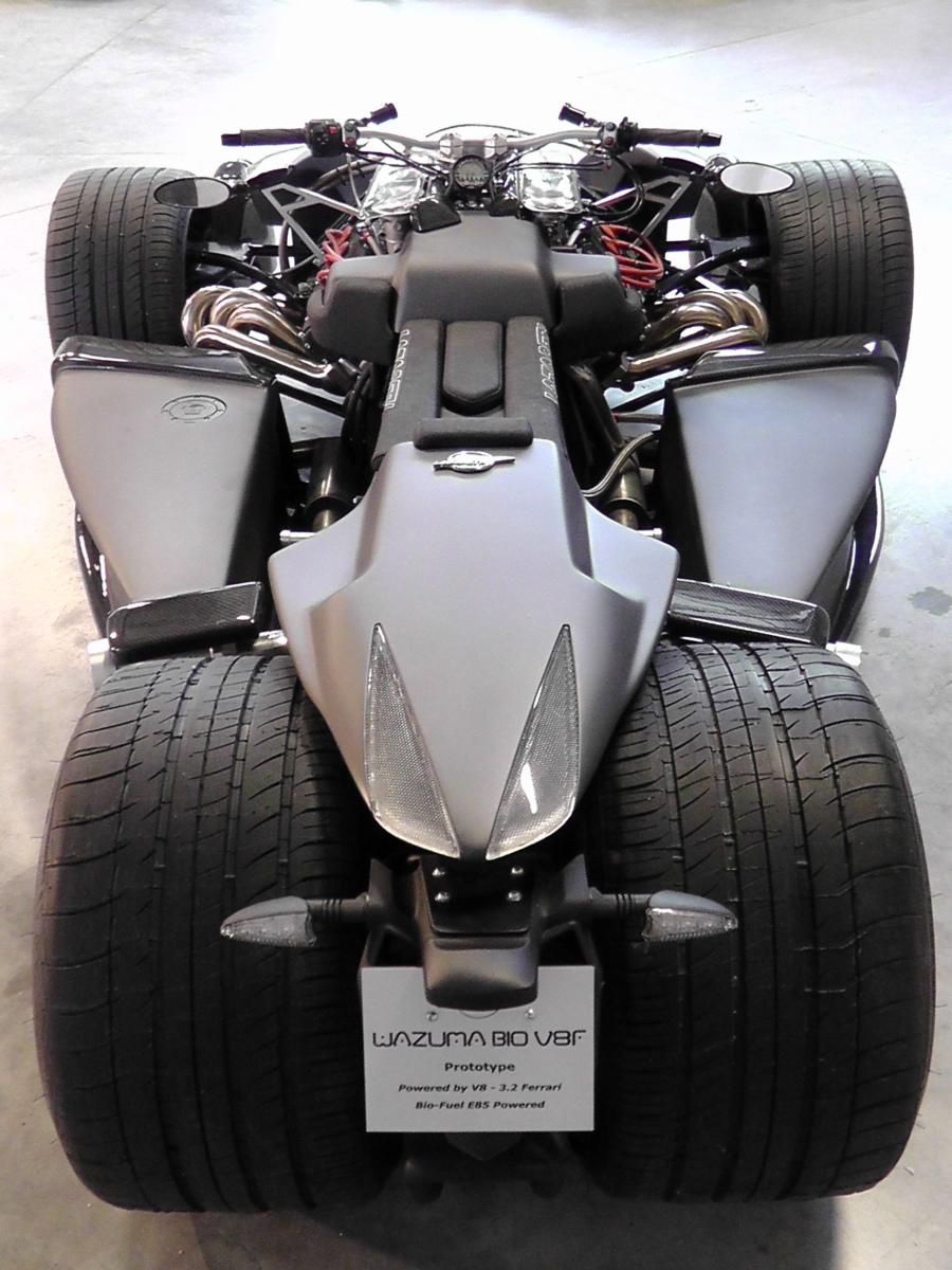Wazuma V8F Matte Edition