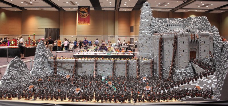 LEGO Helm's Deep