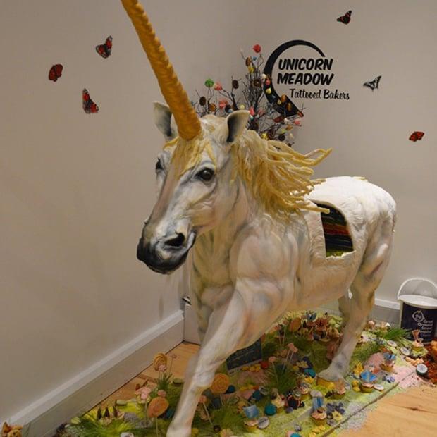 Life-Size Unicorn Cake
