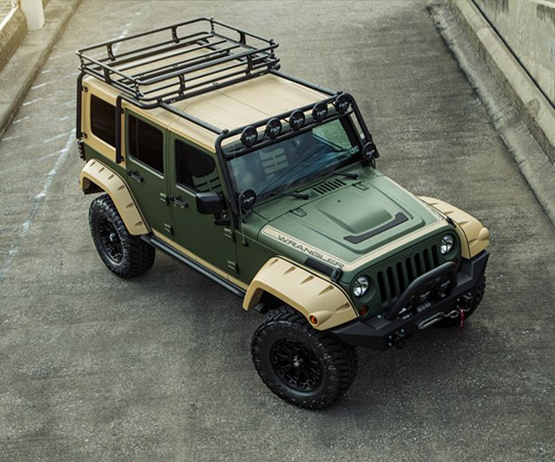 Starwood Custom Jeep Wranglers