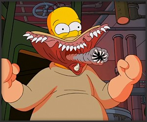 The Simpsons x Guillermo del Toro