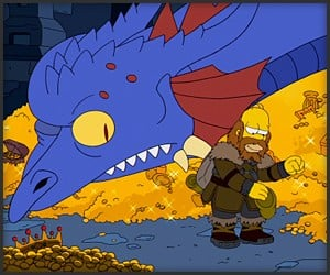 The Simpsons x The Hobbit