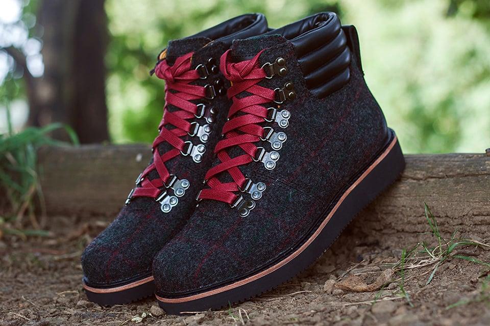 Timberland x Woolrich Boot