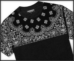 Underated Paisley Tees