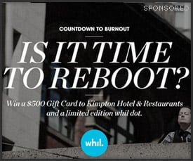 whil: Reboot Giveaway