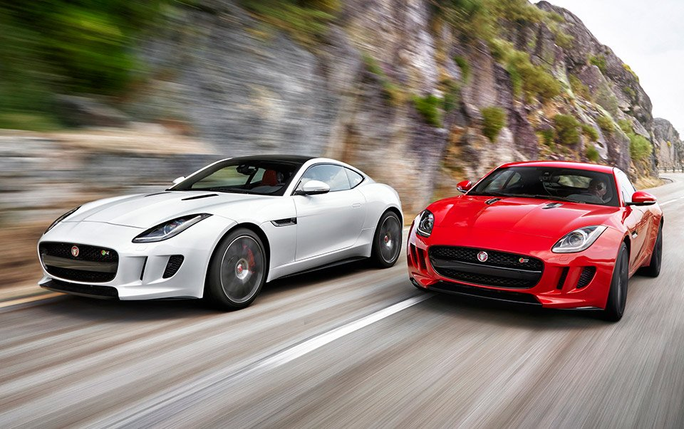 Jaguar FType Coupe The Awesomer - 2015 f type jaguar