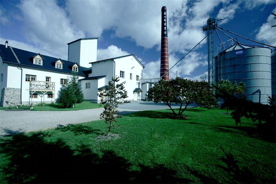 Chopin Vodka distillery in Krzesk, Poland