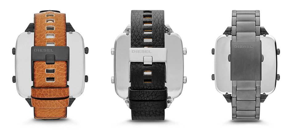 Diesel Square Daddy Watches