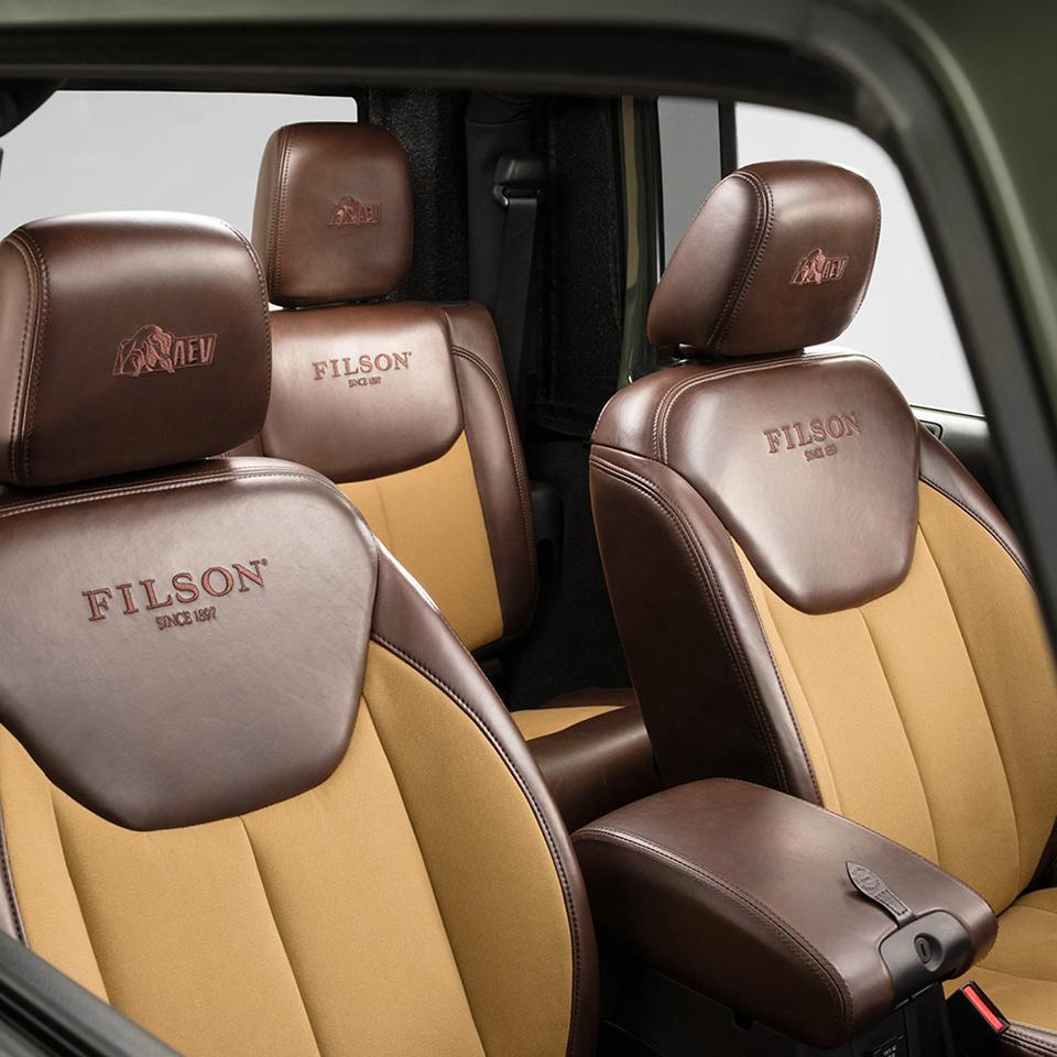 Filson x AEV Brute Double Cab