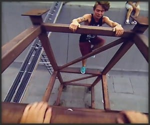 Freerunning through Moscow